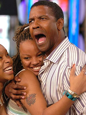DENZEL WASHINGTON'S HANDS - Incl. impressions from his pinky finger! Dwashington6