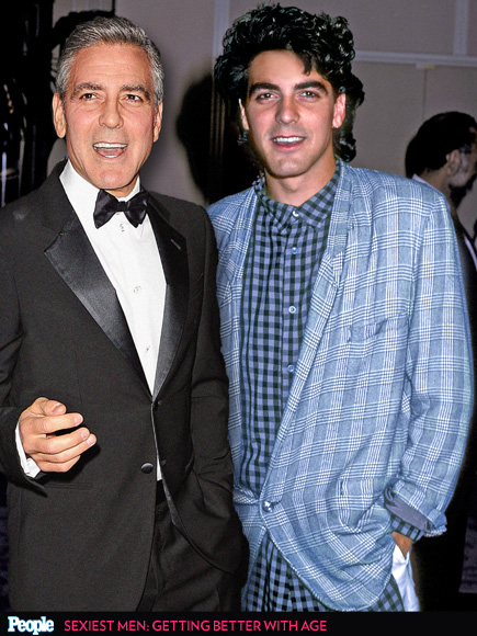 George Clooney Turns 53! See His Changing Looks George-clooney-435x580