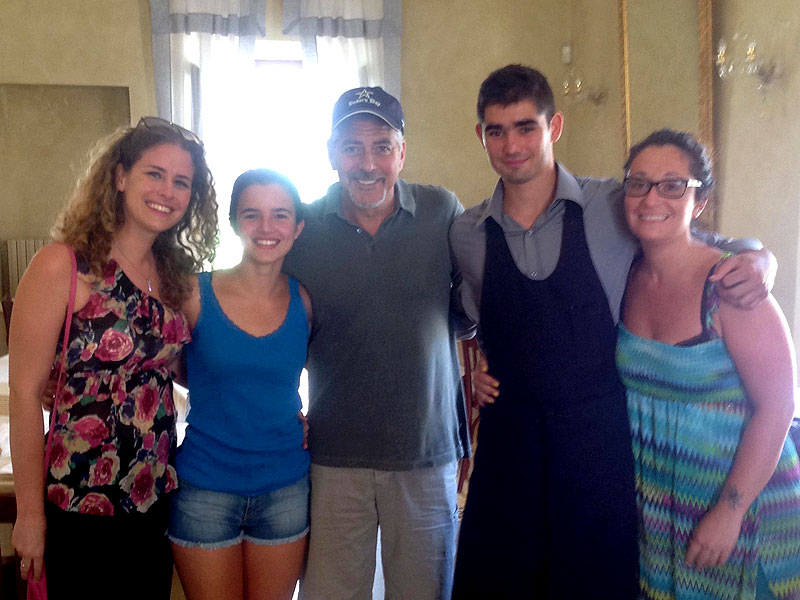 Photos of George Clooneys indicating he's in Tuscany July 29 2015 - Page 2 George-clooney-800