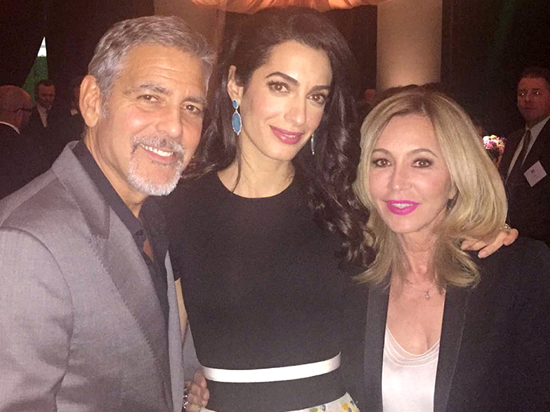 People.com:Inside the contest winner's starry evening April 17, 2016 George-clooney-800