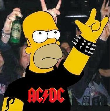STAR DUST Homer_ACDC