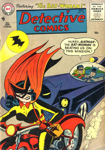 What was the Best Decade Overall for Comics in the Last Century? Detective_Comics_233