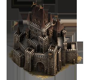 Panství rodu Coulen Castle_keep