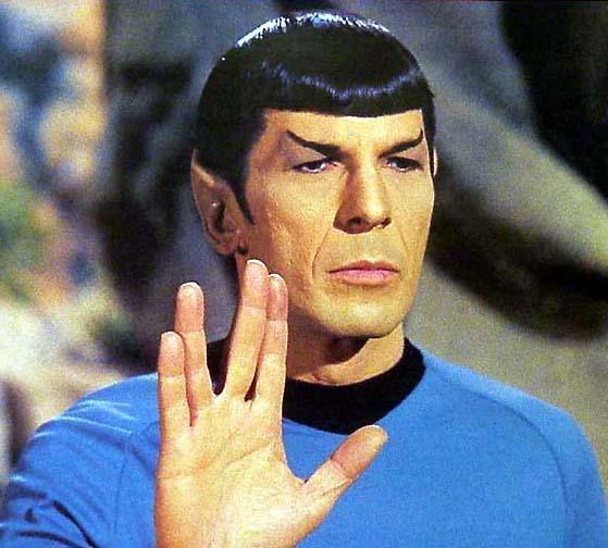 Καλο ταξιδι στα τελευταια συνορα του γαλαξια...... Spock