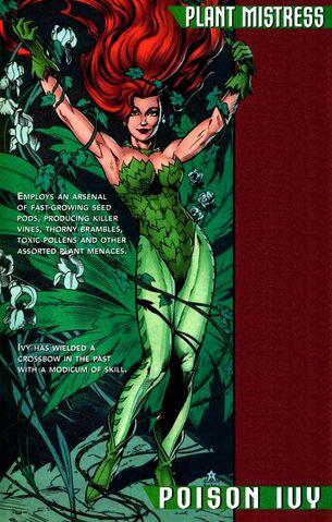 Tournoi des Personnages Préférés DC Comics (on vote pour nos persos préférés, on ne se base pas sur la force) - Page 3 305px-Poison_Ivy_0006