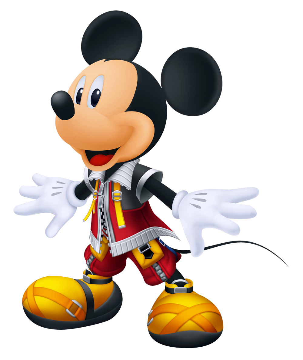 Characters kingdom hearts King_Mickey_KHREC