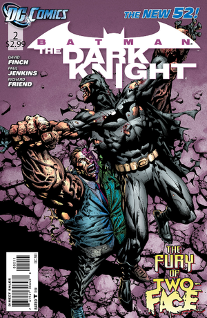 51 - [DC Comics] Batman: discusión general 300px-Batman_the_Dark_Knight_Vol_2_2