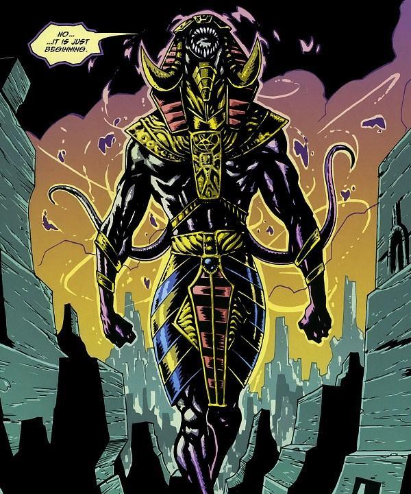 Los Dioses de Lovecraft  y sus criaturas Nyarlathotep