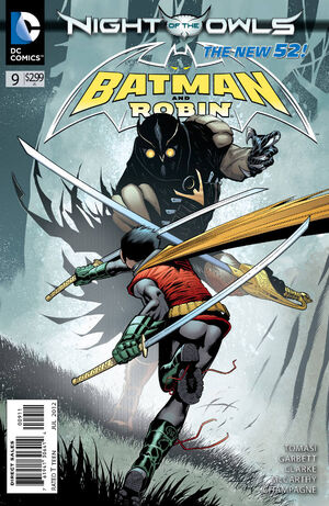 51 - [DC Comics] Batman: discusión general 300px-Batman_and_Robin_Vol_2_9