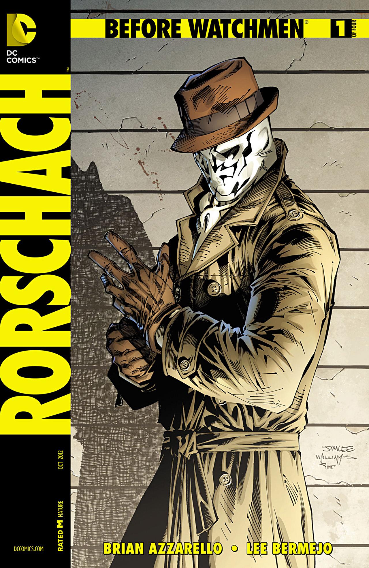 [Literatura y Comics] ¿Qué leí hoy? - Página 20 Before_Watchmen_Rorschach_Vol_1_1_Variant_B