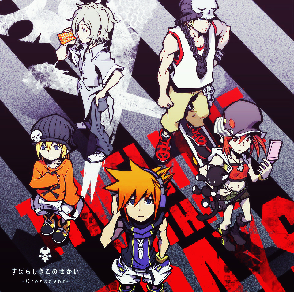 The World Ends With You [Full español]  [NDS] [Emulador] TWEwY_Crossover_Cover