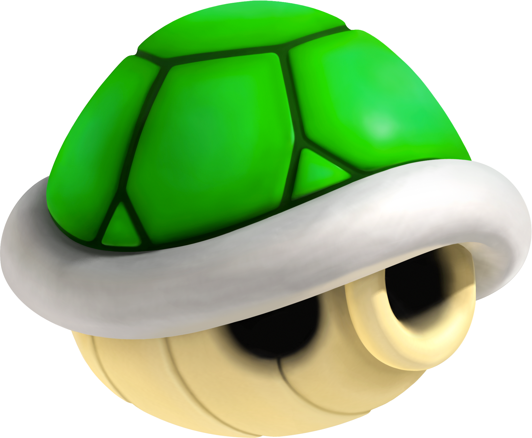 Top 5 Items in Mario Kart Green_Shell_NSMBU