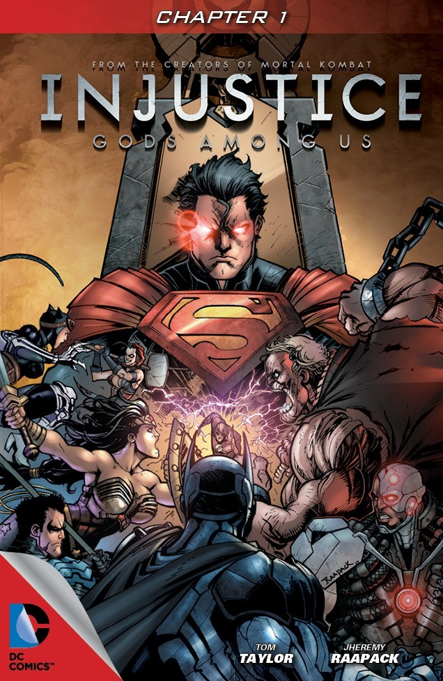 [DC COMICS] INJUSTICE: Gods Among Us Portada_1_0-615x946