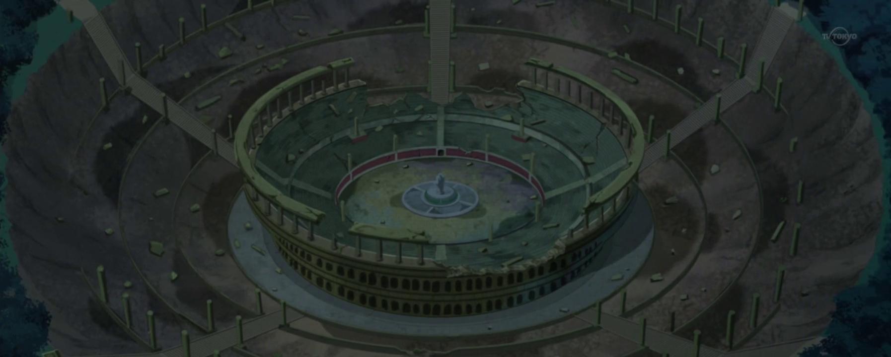 O Cavalgar do Pégaso Colosseum_Ruins