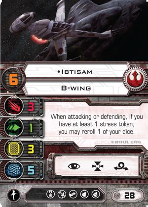B-Wing + Verbesserte Sensoren  Ibtisam