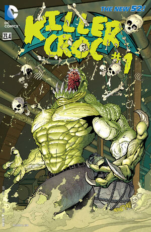 51 - [DC Comics] Batman: discusión general 300px-Batman_and_Robin_Vol_2_23.4_Killer_Croc
