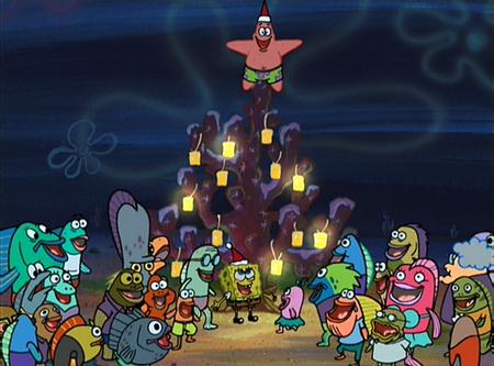 Battleon pod snehom! - Stránka 3 Spongebob-christmas-14