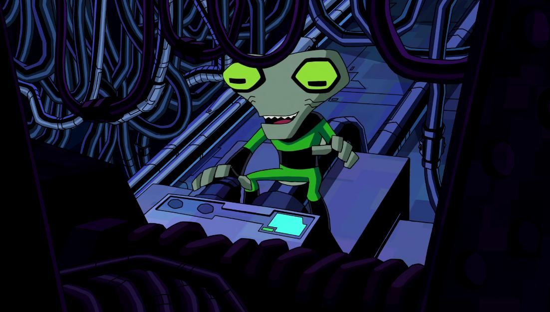All Of Ben's Aliens In Omniverse Design Grey_Matter%27s_intelligence