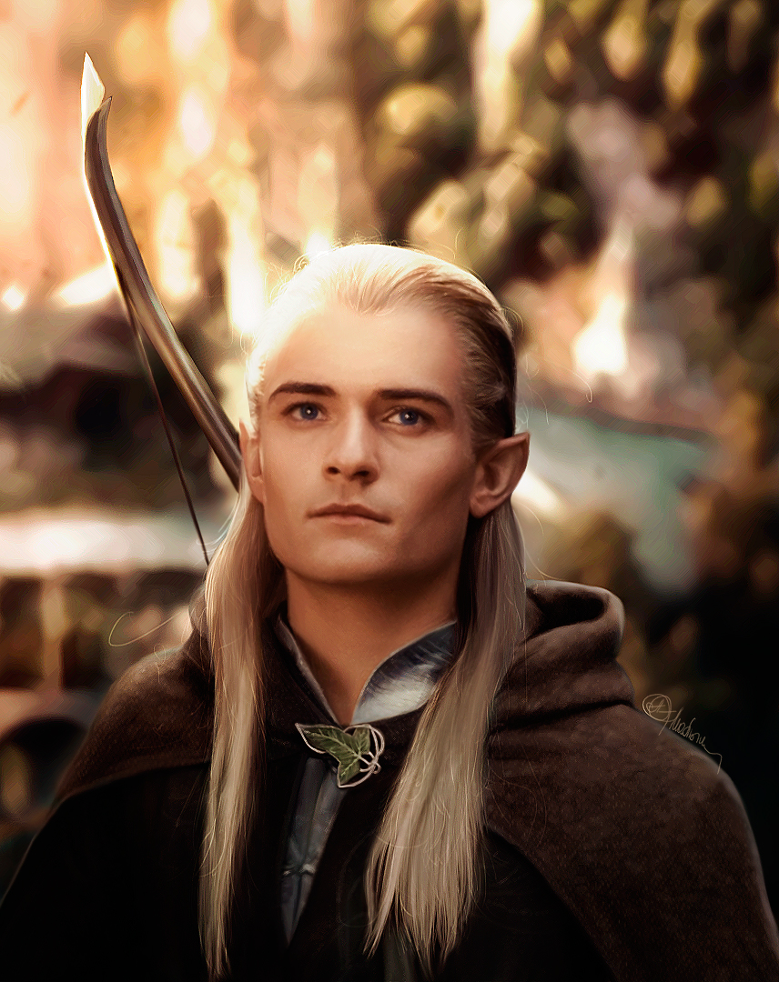 Père Noël Surprise 2014 - Page 5 Legolas_greenleaf_orlando_bloom_lotr_by_push_pulse-d5vcniw