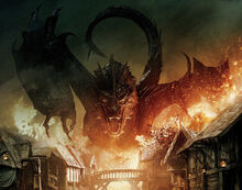 Forum gratuit : The Hobbit and The Lordrd of the Rings - Portal 220px-SmaugDestroyingLakeTown
