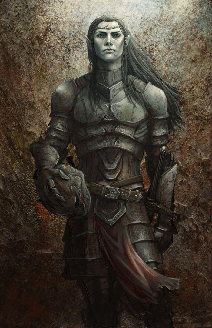 View a character sheet Dark-elf_male