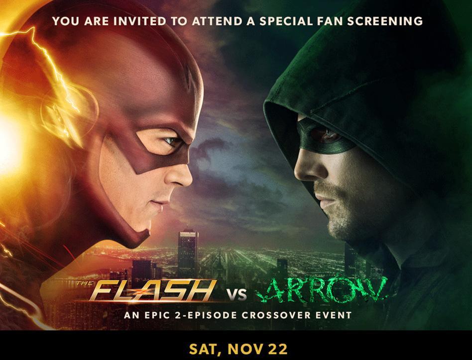 {Galerie} Vos fonds d'écran de PC/smartphones, etc - Page 4 The_Flash_vs_Arrow_fan_screening_promo