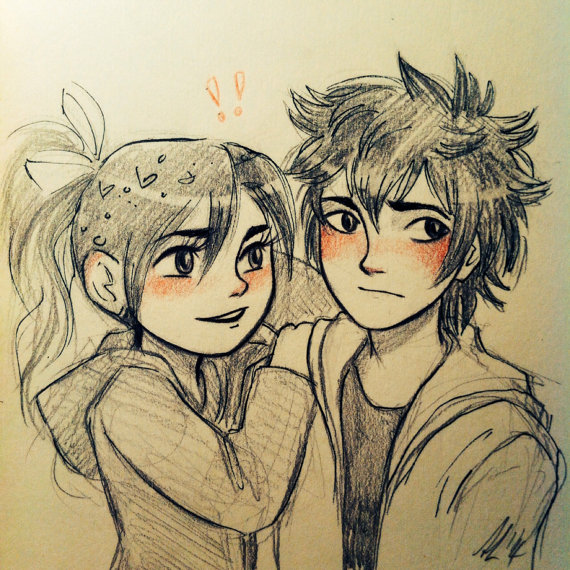 we didn't set out to be superheroes . Δ ( hiro) Hiro_and_Vanellope