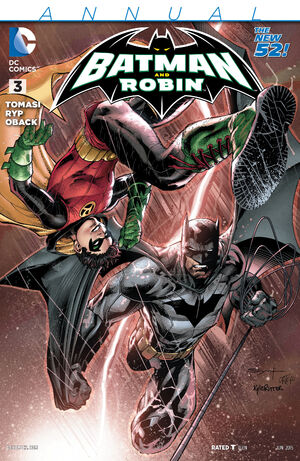 51 - [DC Comics] Batman: discusión general 300px-Batman_and_Robin_Annual_Vol_2_3