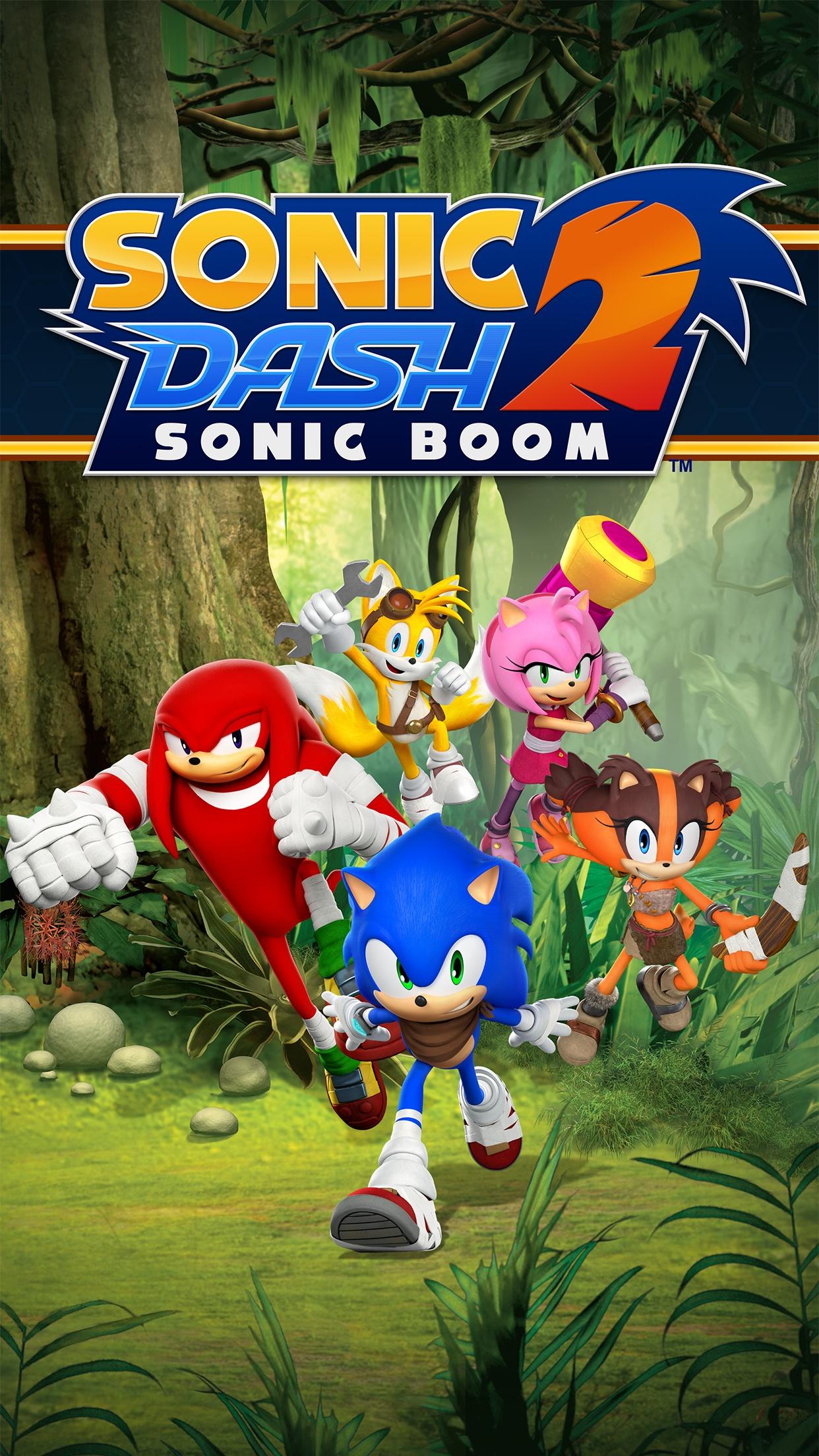 Sonic Dash 2: Sonic Boom Sonic-Dash-2