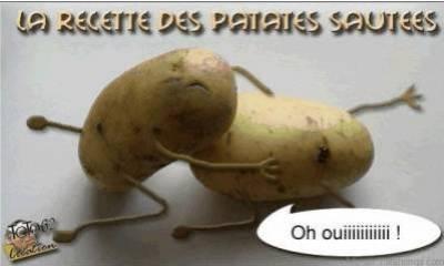 FEMME - LA FEMME ET LA PATATE Patates-sautees-20b60d1