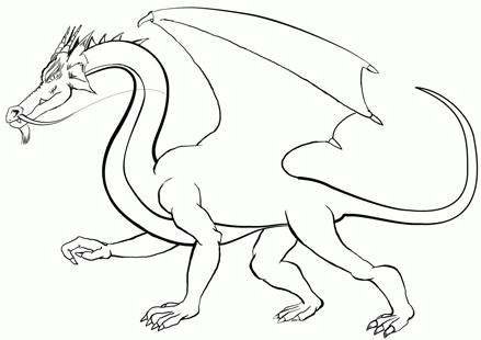 des tits trucs pour commencer à dessiner des dragons. Dessinateurs de dragons donnez tous vos trucs ici. Drake-encrage-cb8104