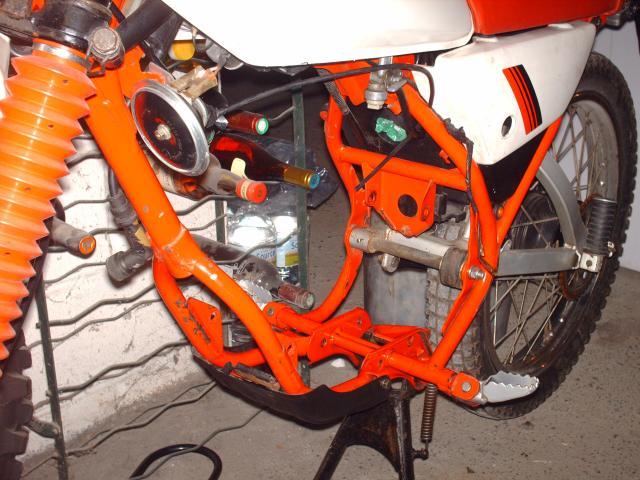 Réstauration d'un DT-MX 50 à vitesses auto de 1983 010-d63b04