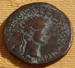 As de Tiberio.  DIVVS AVGVSTVS PATER C. V. T. T. Tarraco Th_137831836_705_122_214lo