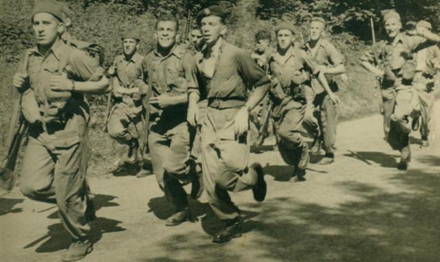 Marche-les Dames en 1950: Speed marche Albert019-123bb5a