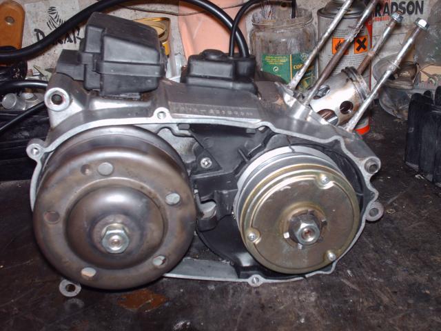 Réstauration d'un DT-MX 50 à vitesses auto de 1983 009-d63a61