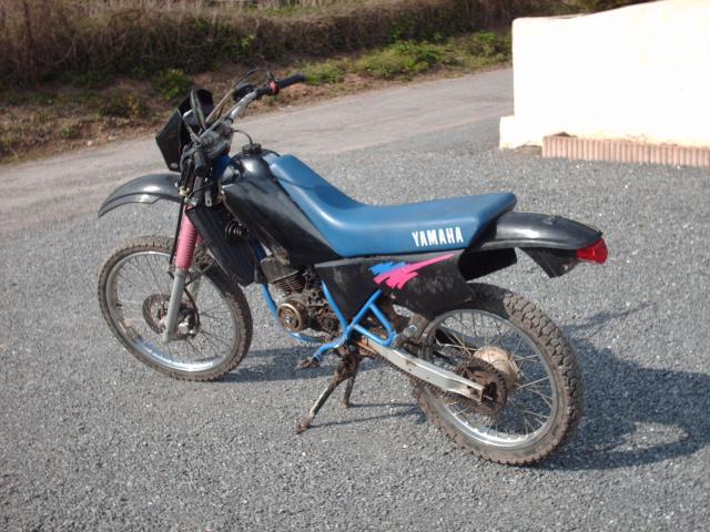 Réstauration d'un DT-MX 50 à vitesses auto de 1983 003-d80446