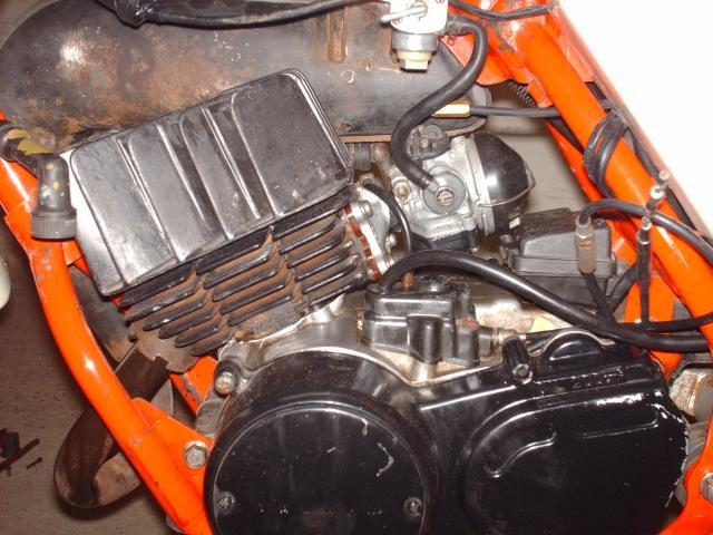 Réstauration d'un DT-MX 50 à vitesses auto de 1983 005-d4dd20
