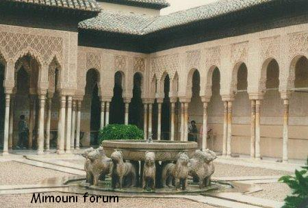 hotel espagne - Naissance et mort du Royaume Amazigh Mimuni-alhambra-espagne-13152b7
