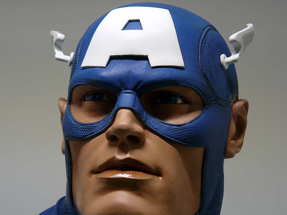 CAPTAIN AMERICA Legendary scale bust P1050005-1597541