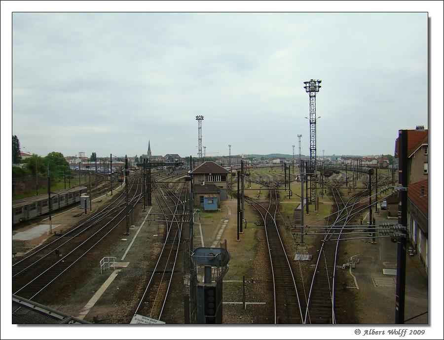 Metz-Sablon, vu de l'extérieur Mz20080524-006-116d7d0