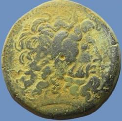 AE42 de Ptolomeo II Filadelfos. ΠTOΛEMAIOY ΒΑΣΙΛΕΩΣ Th_886392212_Lote3PtolomeuTratradracmaeDracma_122_592lo