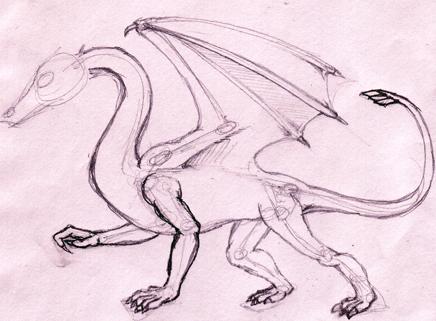 des tits trucs pour commencer à dessiner des dragons. Dessinateurs de dragons donnez tous vos trucs ici. Drake-habillage-c50241