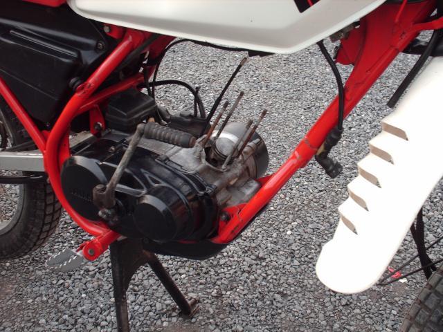 Réstauration d'un DT-MX 50 à vitesses auto de 1983 014-bab1a9