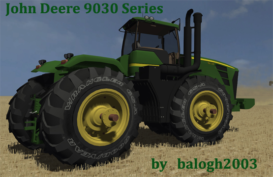 John Derre serie 9030 (pack pour Texas mod) 9030series6g78