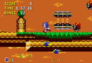 Test de Sonic CD Roboticizer