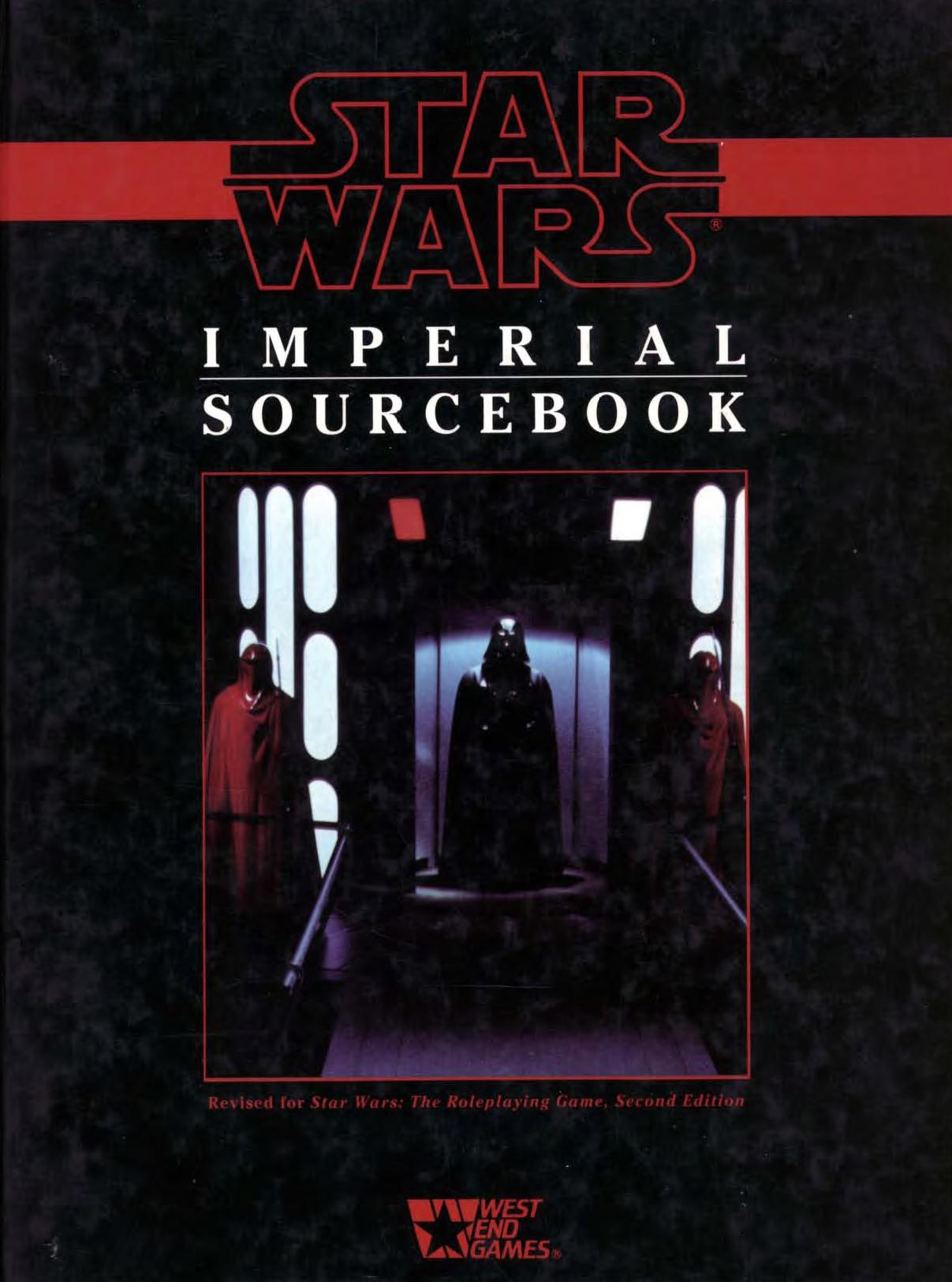 Handbuch der Imperialen Streitkräfte Imperialsourcebook-2ndedition