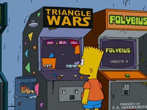 Curiosidades de series y películas Polybius