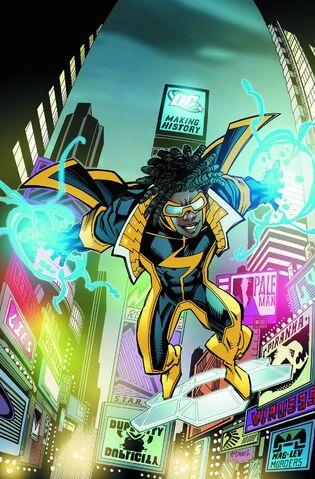 Tournoi des Personnages Préférés DC Comics (on vote pour nos persos préférés, on ne se base pas sur la force) - Page 3 315px-Static_Shock_Vol_1_1_Textless