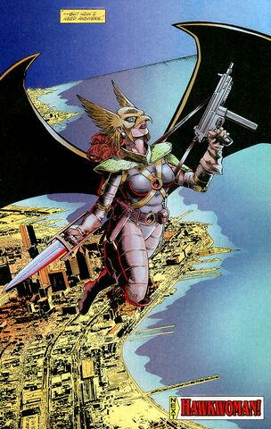 Tournoi des Personnages Préférés DC Comics (on vote pour nos persos préférés, on ne se base pas sur la force) - Page 2 304px-Shayera_Thal_003