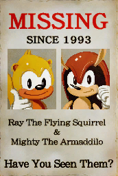 Ray The Flying Squirrel MightyRayHiRes